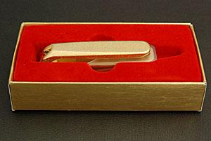 金メッキ爪切り(大)カバー付 89G-5