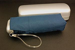 5段式コンパクトアンブレラ(ハードケース付折りたたみ傘)205G-4