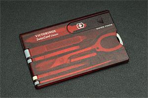 187-06F VICTOINOX スイスカード:身だしなみグッズ