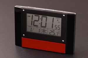 8230ウッドデスク電波時計