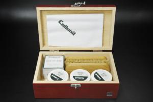 コロニル 木箱靴ミガキセット 198K-6