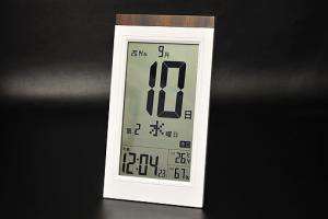 KW9254デジタル日めくり電波時計