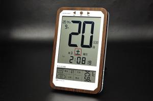 C-8414デジタル日めくり電波時計