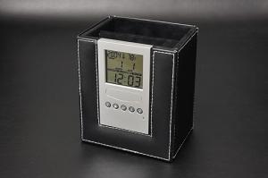 デジタル時計付リモコンラック 122K-6