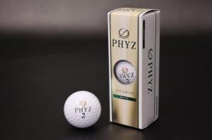 PHYZ(ファイズ)ゴルフボール2015:ホワイト3個入り