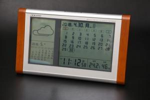 TB-834カレンダー&お天気電波時計