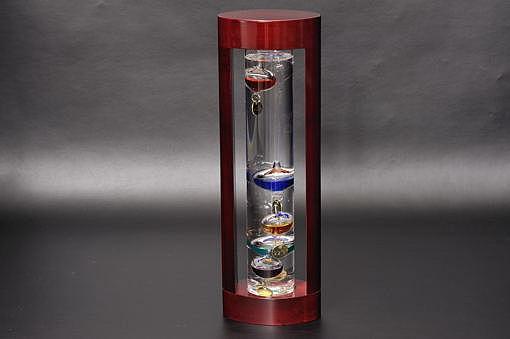 333-202ガラスフロート温度計L【1417-s0475】
