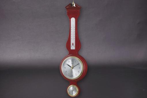 TQ-708ウエストミンスター温湿度・時計【1532-s0568】