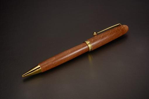 BK-1000K-M カスタムカエデ(PILOT製 高級木製ボールペン)【1713-s0792】