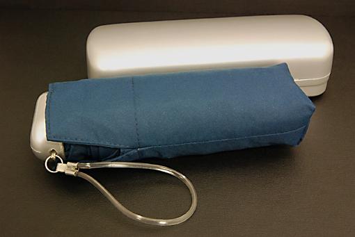 5段式コンパクトアンブレラ(ハードケース付折りたたみ傘)216Y-9【0909-s0160】