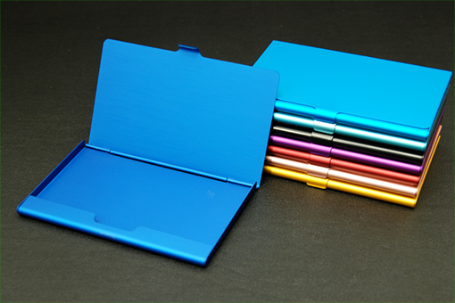 アルマイト染色カードケース【1028-s0192】