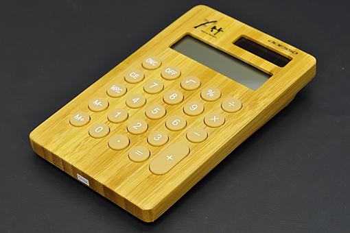 竹の電卓【1301-s0380】