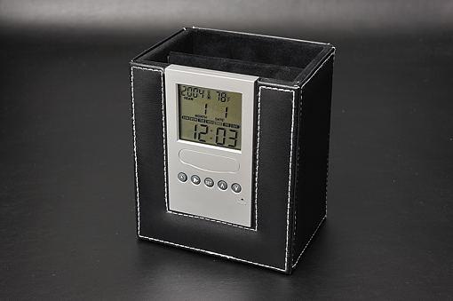 デジタル時計付リモコンラック 122K-6【1609-s0532】