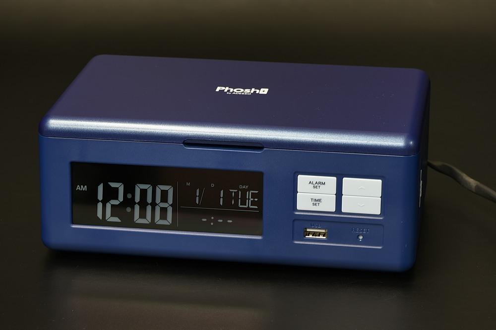 フォッシュ(PS-1)スマホクリーン+ワイヤレス充電クロック【2101-s1018】
