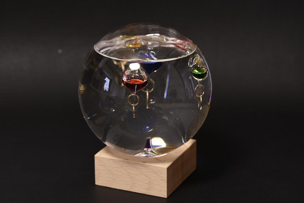 333-210ガラスフロート温度計ドームL【2117-s1045】