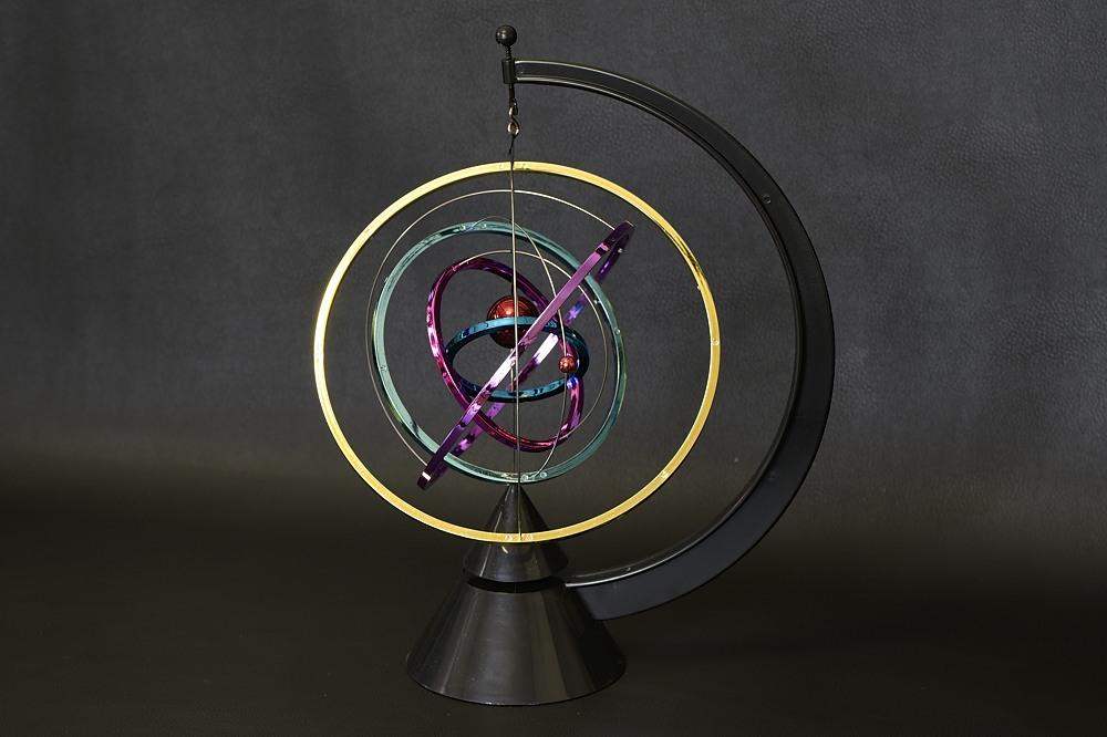 866-500キネティックアート 太陽系【2117-s1047】