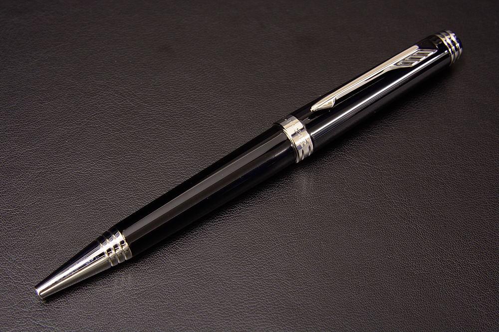 パーカー プリミエ ラックブラック ボールペン(GT/CT)【1537-s0622】