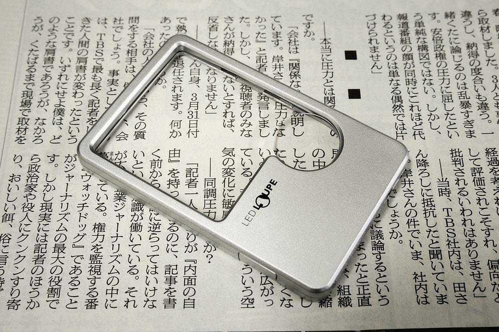 ポケットLEDルーペ234g-9【1609-s0719】