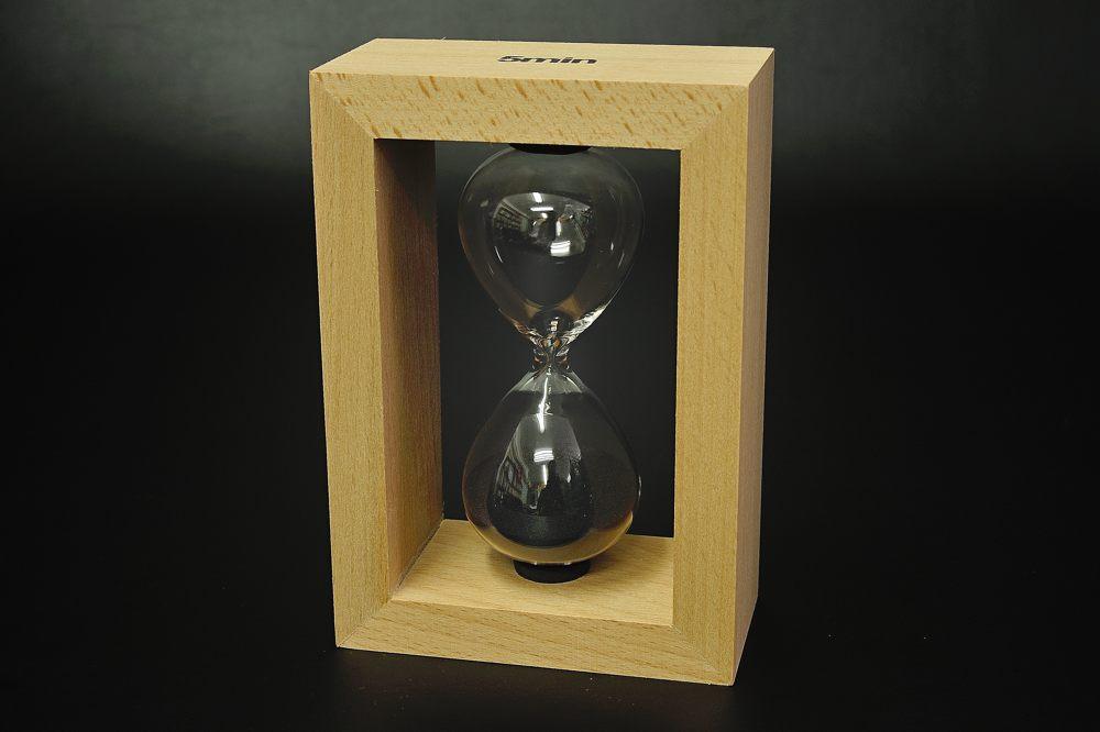 333-105木枠砂時計(5分計)【1617-s0735】