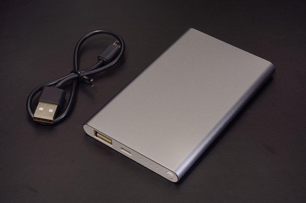 アルミハードカバー モバイルチャージャー4000mAh【1704-s0825】