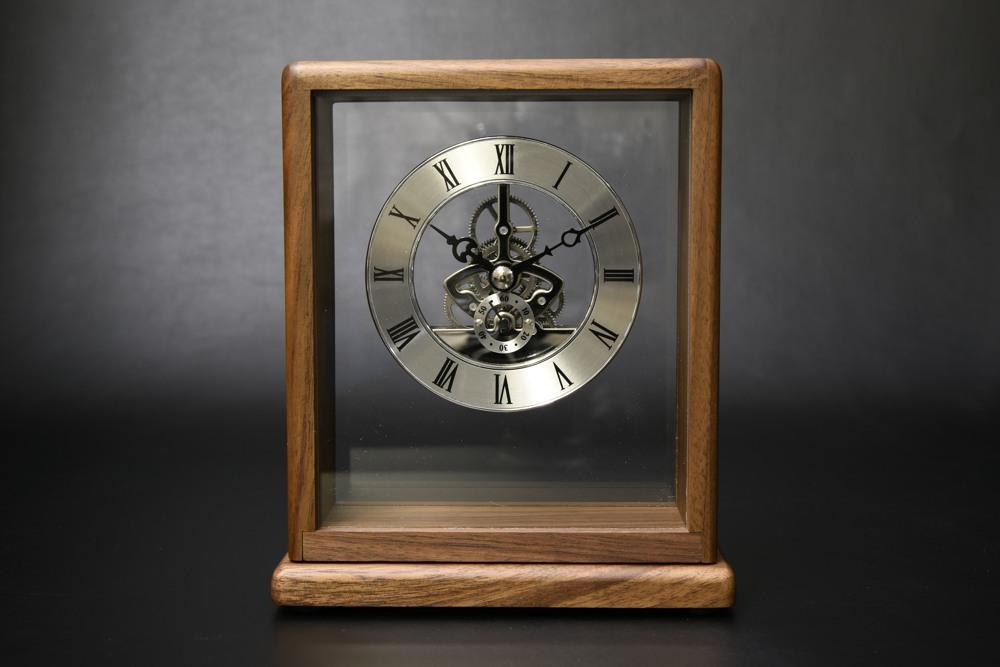 853-S100 銀の時計【1817-s0840】