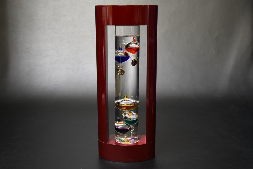 333-201 ガラスフロート温度計M【1817-s0842】