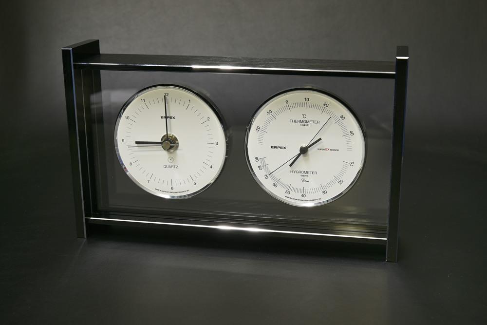 EX792スーパーEXギャラリー温湿度・時計【1832-s0863】