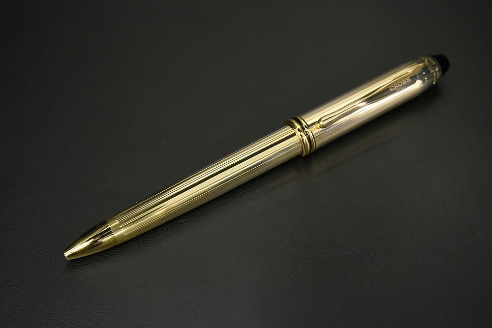 CROSS クロス タウンゼント 10金張りボールペン【1937-s0921】