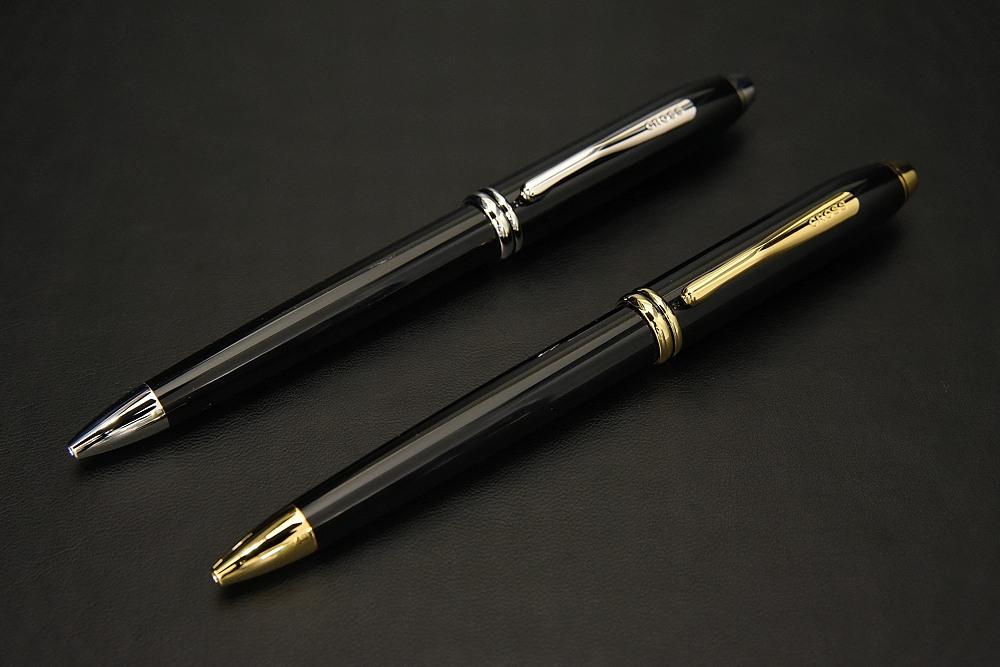 CROSS タウンゼント(ブラックラッカー/ブラックラッカーロジウムプレート)ボールペン【1937-s0922】