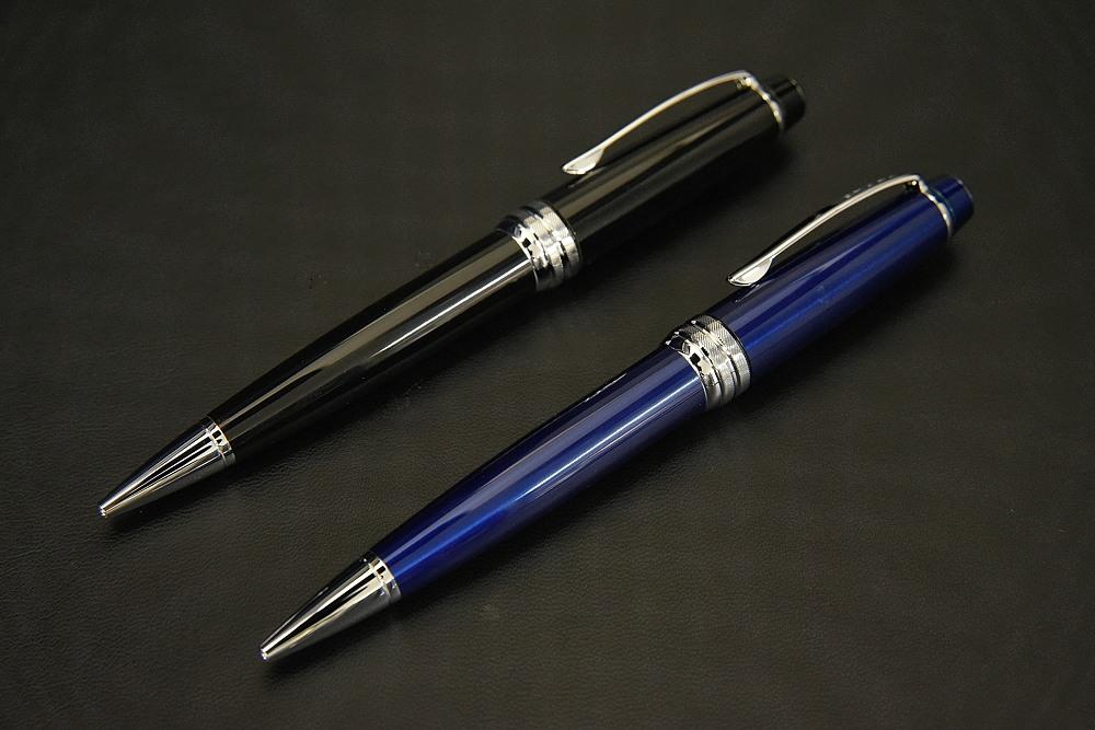 CROSS ベイリー(ブラック/ブルー)ボールペン【1937-s0925】