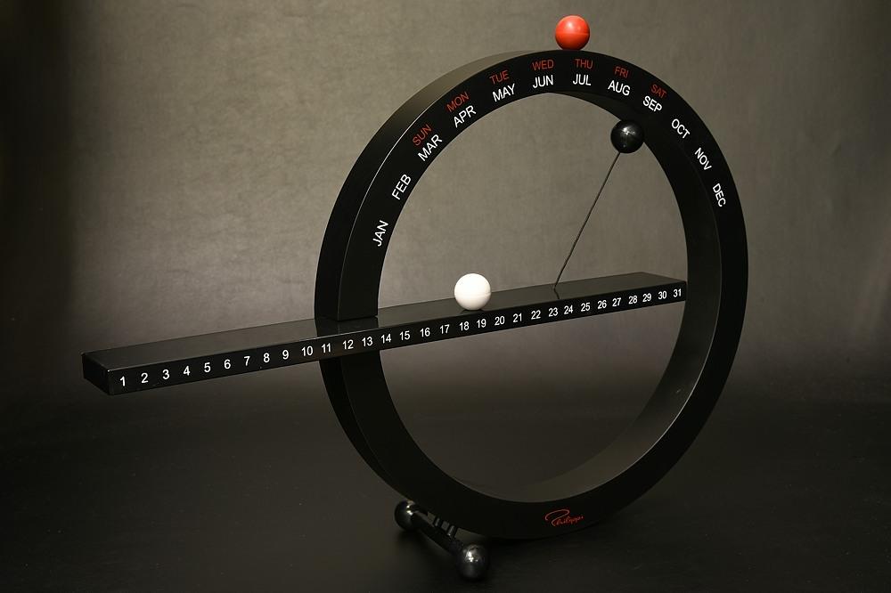 philippi 127002 365 マグネチック手動式 万年カレンダー【1930-s0973】