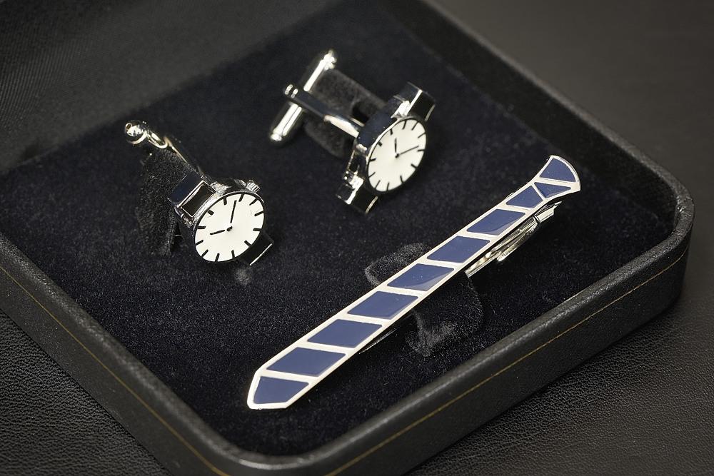 700-604 タイピン&カフスセット(ネクタイ&腕時計)【2017-s0999】